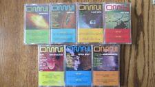 7 diff OMNI CASSETTES Vol 1-7 JAN HAMMER Ayman TANGERINE DREAM Mars Lasar SEALED