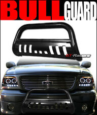 FOR 2005-2015 TOYOTA TACOMA BLACK STEEL BULL BAR BRUSH BUMPER GRILL GRILLE GUARD