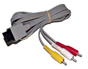 Genuine Nintendo Wii AV Cable Cord RCA (RVL 009)  Wii U Original