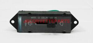 1984 85 Corvette Wiper Switch - NEW REPRO Replaces GM 14080668 D6371A