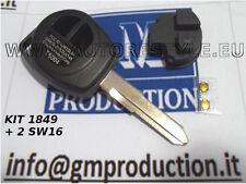 Coquille pour télécommande clé SUZUKI JIMNY SWIFT SX4 AVEC TOUCHES E 2