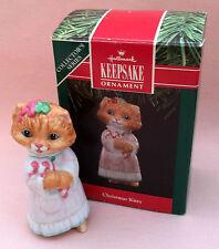 MIMB 1991 HALLMARK Keepsake CHRISTMAS KITTY # 3!