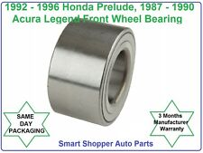 Front wheel bearing For 1992-1996 Honda Prelude or 1987 - 1990 Acura Legend