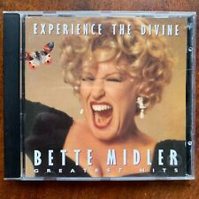 Bette Midler Experience the Divine Greatest Hits CD Female Vocal Rock Pop Album