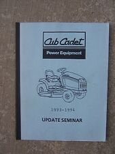 1993 1994 Cub Cadet Update Manual 2000 Tractor Commercial Pro Performer 4816F  T