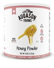 Augason Farms Honey Powder (Emergency Prepper Food Storage) *Fresh 3 pound Can**
