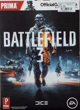 BATTLEFIELD 3 PRIMA OFFICIAL VIDEO GAME GUIDE PLAYSTATION 3 NEW WITH TAGS