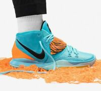 Nike Kyrie 6 - Oracle Aqua / Yellow / Orange / Black - Sizes 3-13UK BQ6826-003