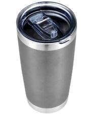 Stainless Steel Vacuum Insulated Tumbler with Lid Gray