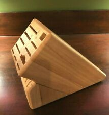 Wusthof Knife Block 17 Slots Wood
