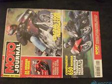 ** Moto journal n°1420 24 heures du Mans / Stéphane Chambon / Cagiva Navigator