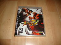 STREET FIGHTER IV DE CAPCOM PARA LA SONY PLAY STATION 3 PS3 NUEVO PRECINTADO