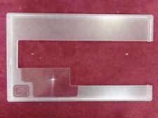 "#1 Horn Cabinet Acrylic Bernette 50 60 75 Sewing Machine Insert 11-1/4""x19"""