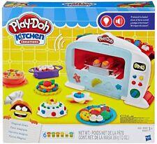 play-doh kitchen créations le four magique oven 6 pots pate a modeler accessoire