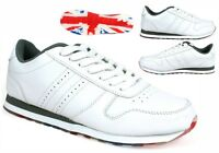 TRAINER- Men New Lace Up Running Light Weight Comfort Trainer UK Size 7-12