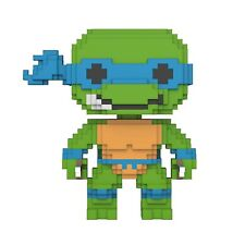 Funko Teenage Mutant Ninja Turtles POP Leonardo 8 Bit Vinyl Figure NEW IN STOCK