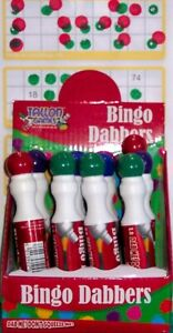 Bingo Dabbers Marker pen ticket game pens pick lucky no drips ink dabber colour