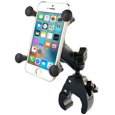RAM Tough-Claw Handlebar Rail Mount with X-Grip iPhone 6 7 8 X RAM-B-400-UN7U