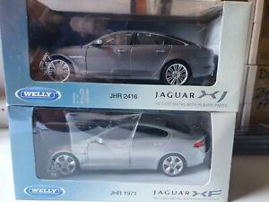 Jaguar XJ  & Jaguar XF launch models from Jaguar (JHR1971 AND JHR2416)