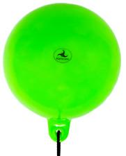 "1 x HURRICANE Heavy Duty Marker Buoy: Fluorescent Green 16"" - INFLATED"