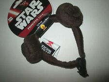 Star Wars PRINCESS LEIA Dog HEADBAND S/M New PET Costume NWT