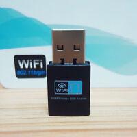 NEW 300M USB WiFi Wireless LAN 802.11 n/g/b Adapter Nano Network 300Mbps Small b