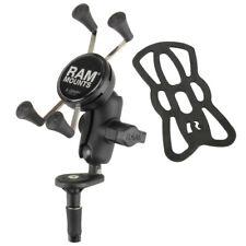 RAM Mount Motorcycle Fork Stem Short Arm X-Grip Phone Kit iPhone Samsung Pixel