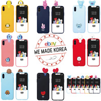 BT21 Bbakkom Figure Cellphone Case Cover Official K-Pop Authentic Goods