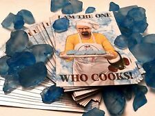 "Breaking Bad Magnet ""I am the one who cooks!"" AMC Walter White Pinkman custom"