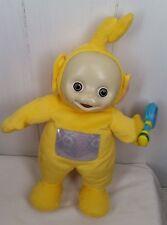 "2004 Play Along singing dancing talking Teletubby yellow Laa-Laa 16"""