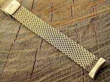 Waltham Ladies Vintage Stainless Steel Watch Band 12mm Sliding Clasp NOS Unused