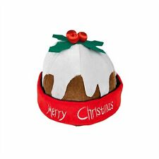 Christmas Pudding Hat Christmas Novelty Adults Fancy Dress Costume Accesory