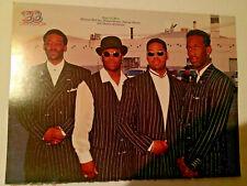 Vintage 90s' 00' Pinup Boyz II Men Michael + Bryan White Teen BB Magazine