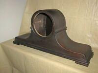 Antique German Tambour Mantle Clock Case Parts Repair