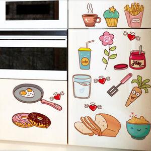 Kitchen Wall Stickers Coffee Sweet Food DIY Wall Art Decal Decoration Wall