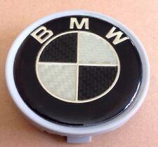 BMW Wheel Centre Black + Silver.  ((Y1))