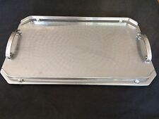 VINTAGE RANLEIGH MADE IN AUSTRALIA TWIN HANDLED 44cm x 28cm RECTANGLE TRAY
