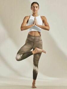 ATHLETA Elation Watercolor Stripe 7/8 Tight XS PETITE  Neutral Workout YOGA Pant