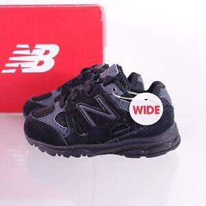 Size 4 WIDE Toddler/Infant Kid's New Balance 888 Sneakers KJ888BTI Black