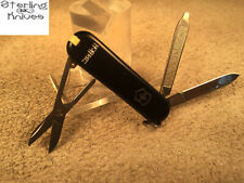 "2-1/4"" Closed Victorinox Switzerland Hoffritz Knife W/ Advertising Stainless"