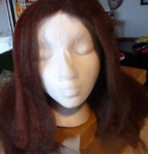 NEW LONG BROWN WIG GREAT FOR HALLOWEEN OR COSPLAY