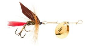 NEW! Joes 215-8 Short Striker Classic In-Line Spinner Fly, Sz 8, Trout Special