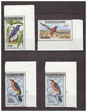 S16089) Mali MNH 1961 Birds Overprints 4v