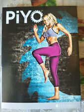 Workouts PIYO Deluxe Full Set 5 DVD with all Guides BRAND NEW