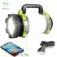 Rechargeable LED Flashlight Camping Lantern Searchlight Spot light Torch 1000LM