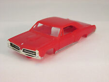 MODEL MOTORING RED '67 GTO SHELL ~ NEW! ~ FITS AURORA TJET