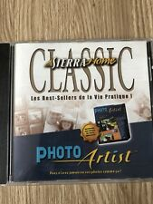 SIERRA HOME PHOTO ARTIST PC WINDOWS 95 98 CD-ROM FRANÇAIS VF RARE