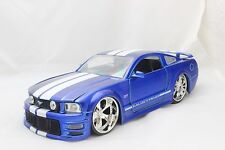 JADA 2006 FORD MUSTANG GT BLUE 1/24 DIECAST CAR NEW WITHOUT BOX