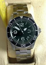 Invicta with Seiko movement Mod Modified Aviator Pilot Military Sinn DAGAZ dial