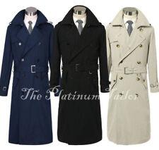 Cotton Blend Regular Size Winter Coats & Jackets for Men